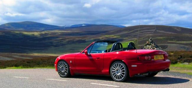 Alquiler de coches en Escocia